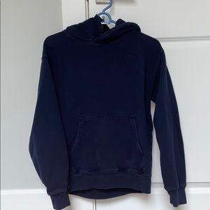 Aritzia hoodie size small (navy blue)